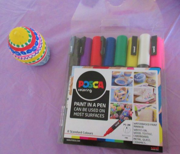 Easter Crafts With Posca Pens