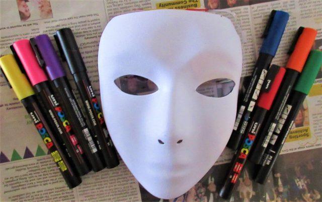 Posca Pens & Face Mask