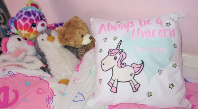 Always Be A Unicorn Personalised Cushion from Funky Pigeon