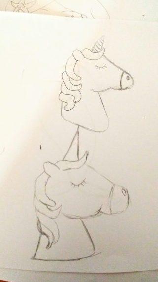 Learning how to draw kawaii