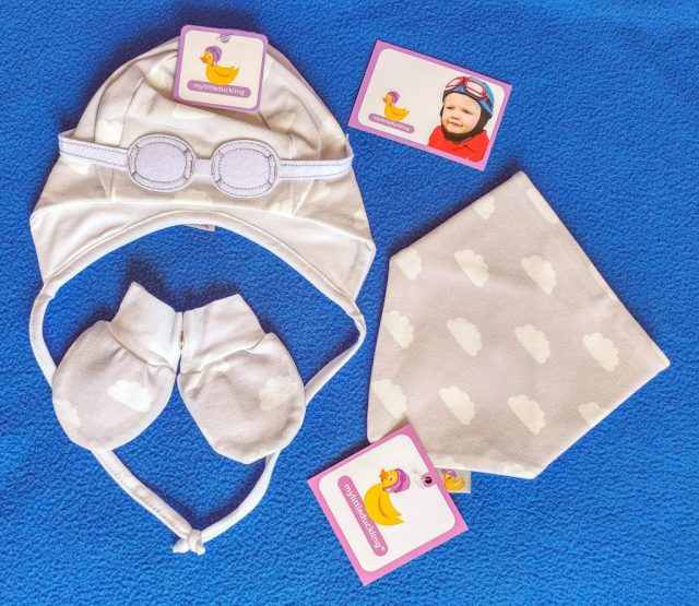 Newborn baby gift set from My Little Duckling £22.99