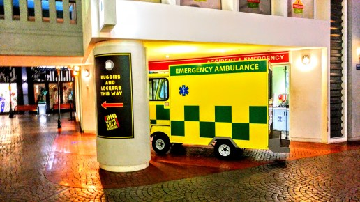 Emergency Ambulance - Kidzania