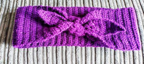 Crochet Pin-Up Retro Headband