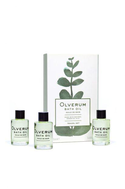 Travel set- Olverum Bath Oils