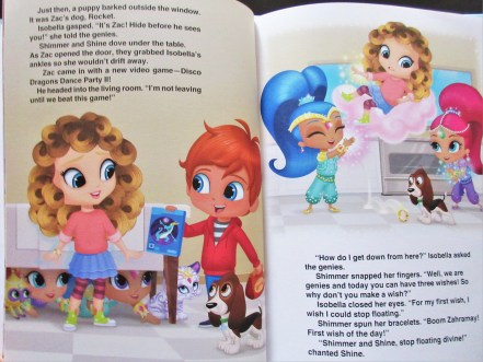 Shimmer and shine personalised book review
