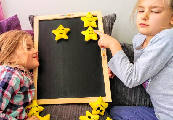 Discussing feelings with my mood stars