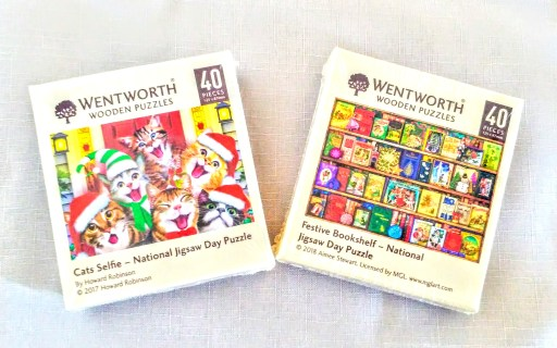 Wooden Jigsaws - Wentworth Wooden Micro Puzzles