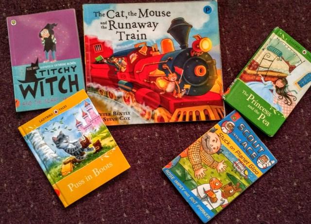 Izzy's library haul