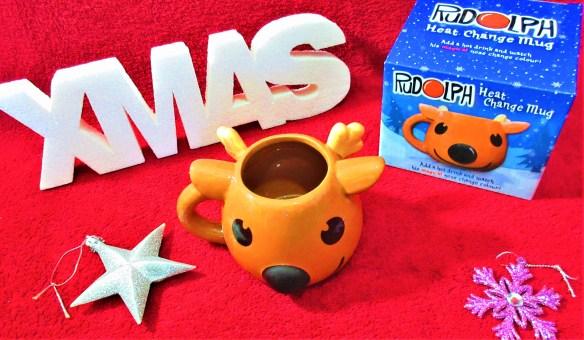 Rudolph Heat Change Mug