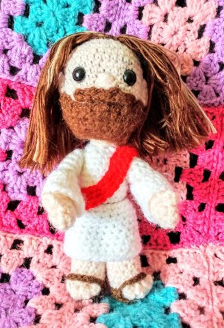 Crocheted Jesus