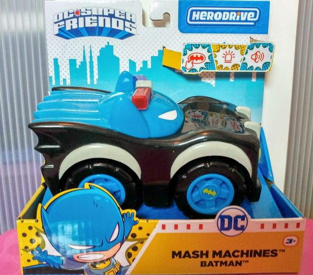 Mash Machines Batman Police Car
