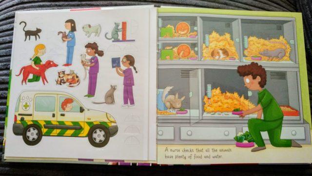 Miles Kelly Mini Playbook - Animal Hospital
