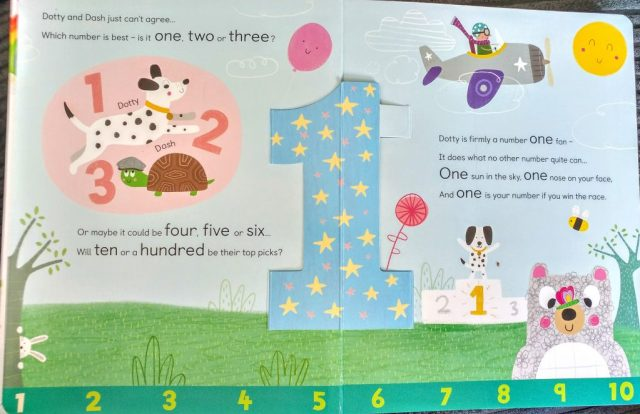Number 1  Dotty and Dash's 1,2,3