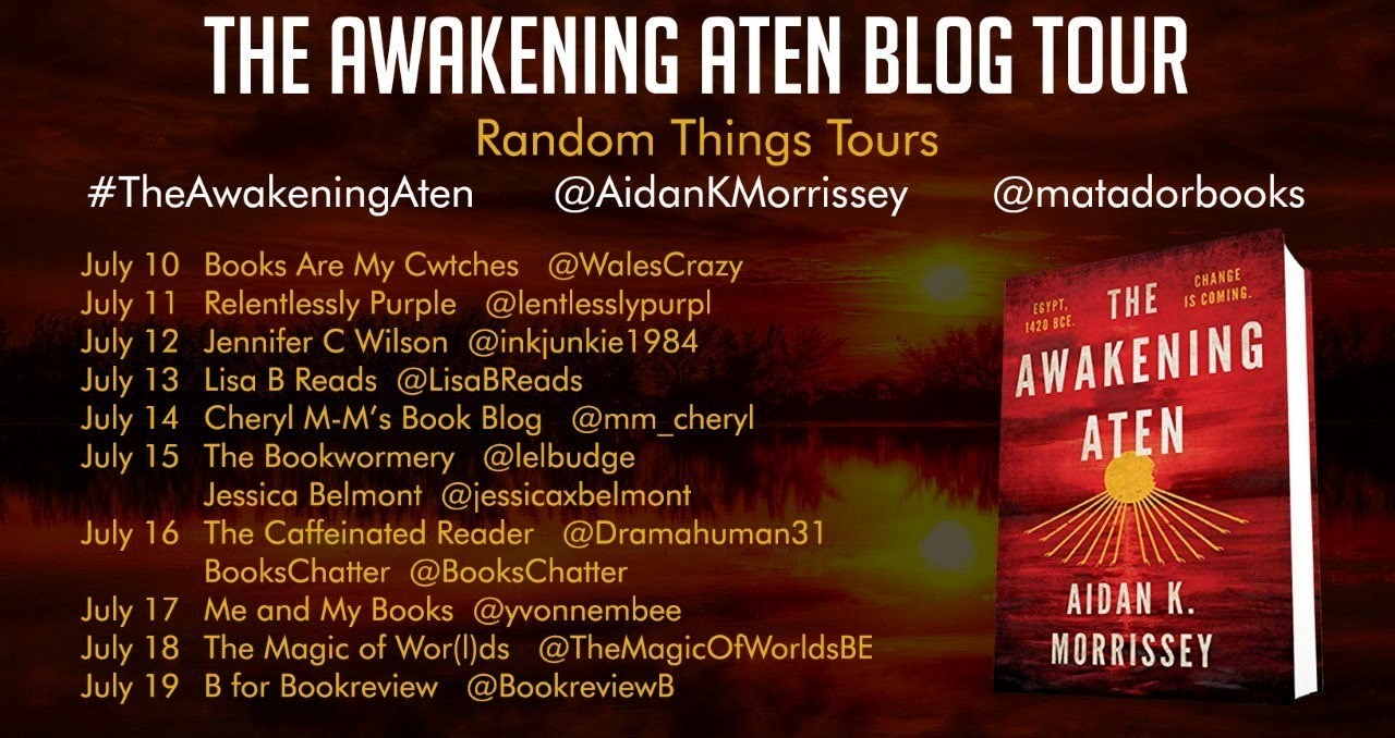 The Awakening Aten – Blog Tour