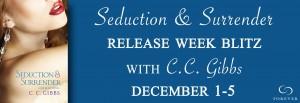 Release Blitz & Giveaway: Seduction & Surrender (Reckless #2 ) by C.C. Gibbs