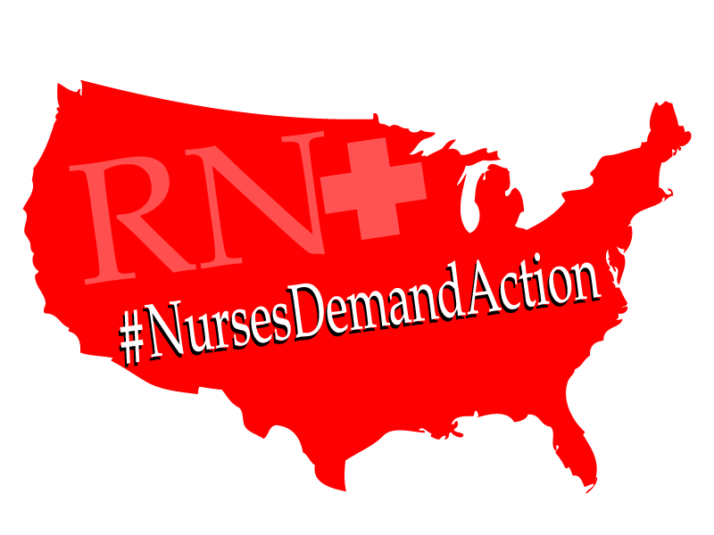 #nursesdemandaction