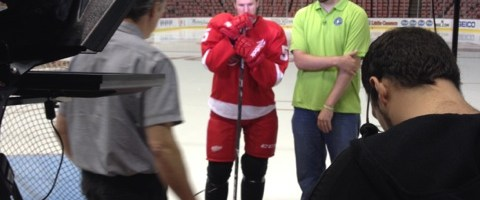 PSA Shoot With Niklas Kronwall 5