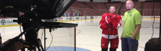 PSA Shoot With Niklas Kronwall 4
