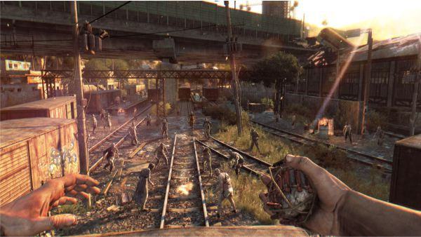 Dying Light attracting zombies 2