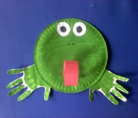 frog with paper - 28 images - paper plate frog mommyapolis ...