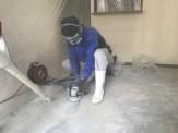 ペット臭が染み込んだ床の施工