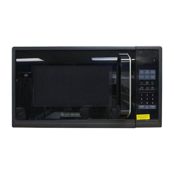 black and decker 9cu ft microwave 900watts black