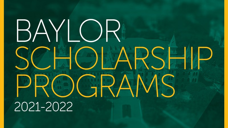 Freshman Scholarship Programs 2021-2022