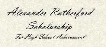 Alexander Rutherford Scholarship