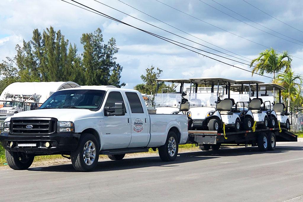 Rental Truck Fleet - Reliable Golf Carts Palm Beach County