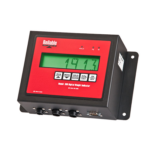 Digital Indicators With Remote Read : Model ilg digital weight indicator with analog output