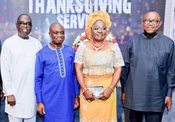 Fidelity Bank Ken Opara gives thanks