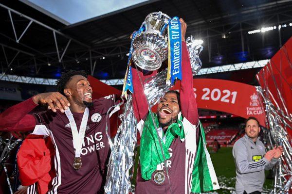 Leicester FA Cup Victory: 'E go choke for Naija' – Iheanacho tweets