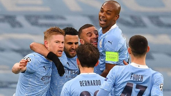 Man City in first Champions League final