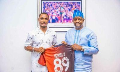 FG names Ighalo Principal's Cup ambassador