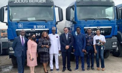 SCOA boss commends Unity Bank, others for N15.5bn equipment to Julius Berger
