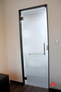 Office Door: Frameless Glass Office Door
