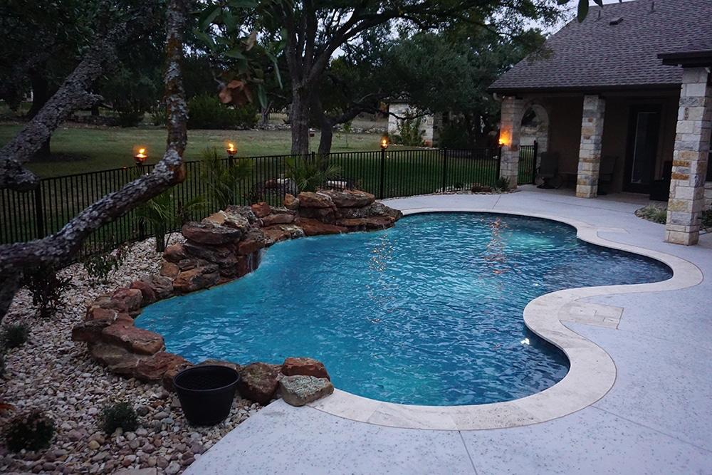 Georgetown, Texas Swimming Pool  Reliant Pools Austin's