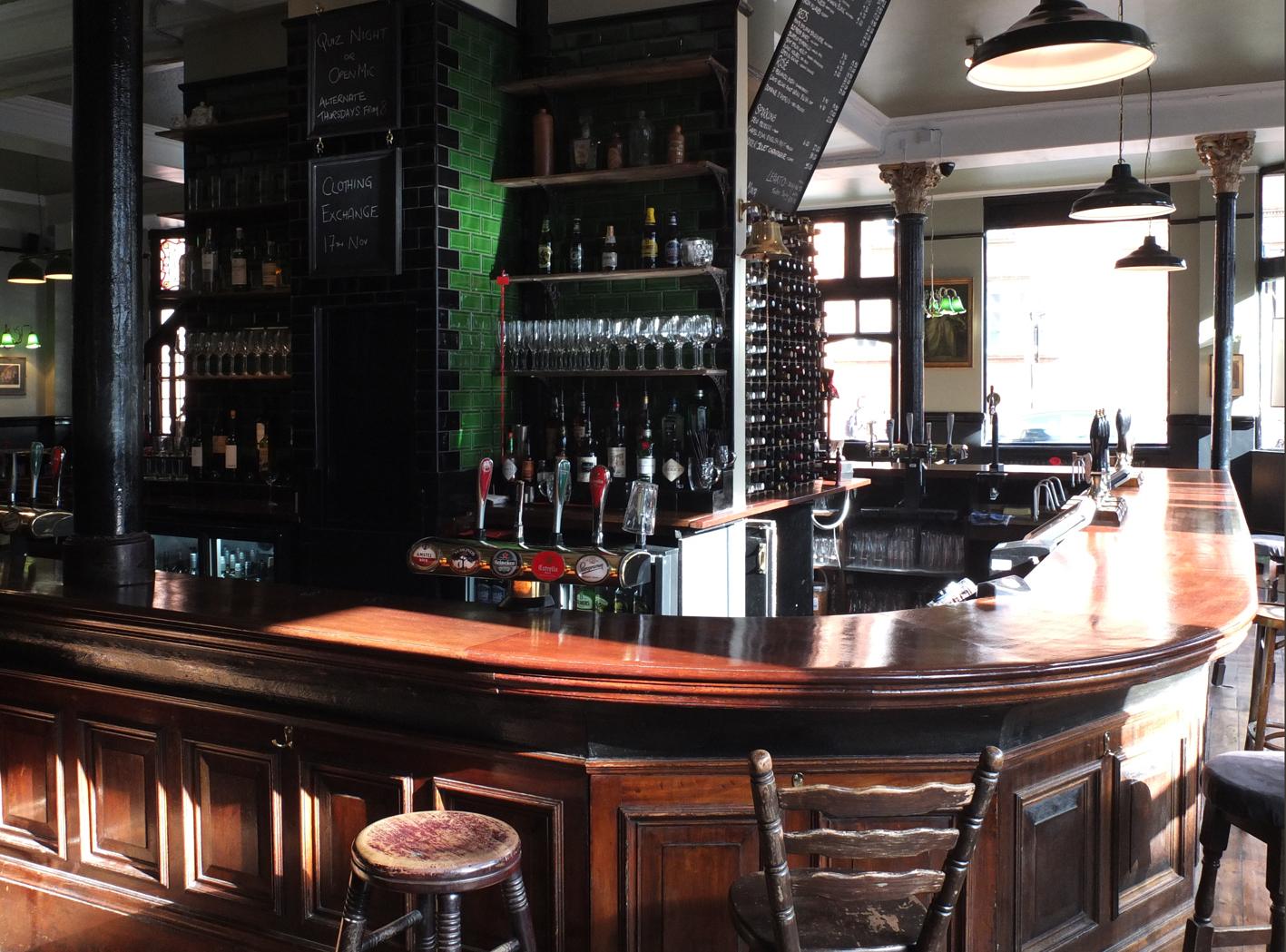 london pub interiors  relic interiors london