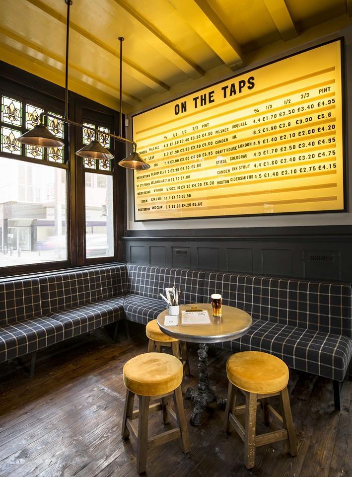 craft beers london  relic interiors london