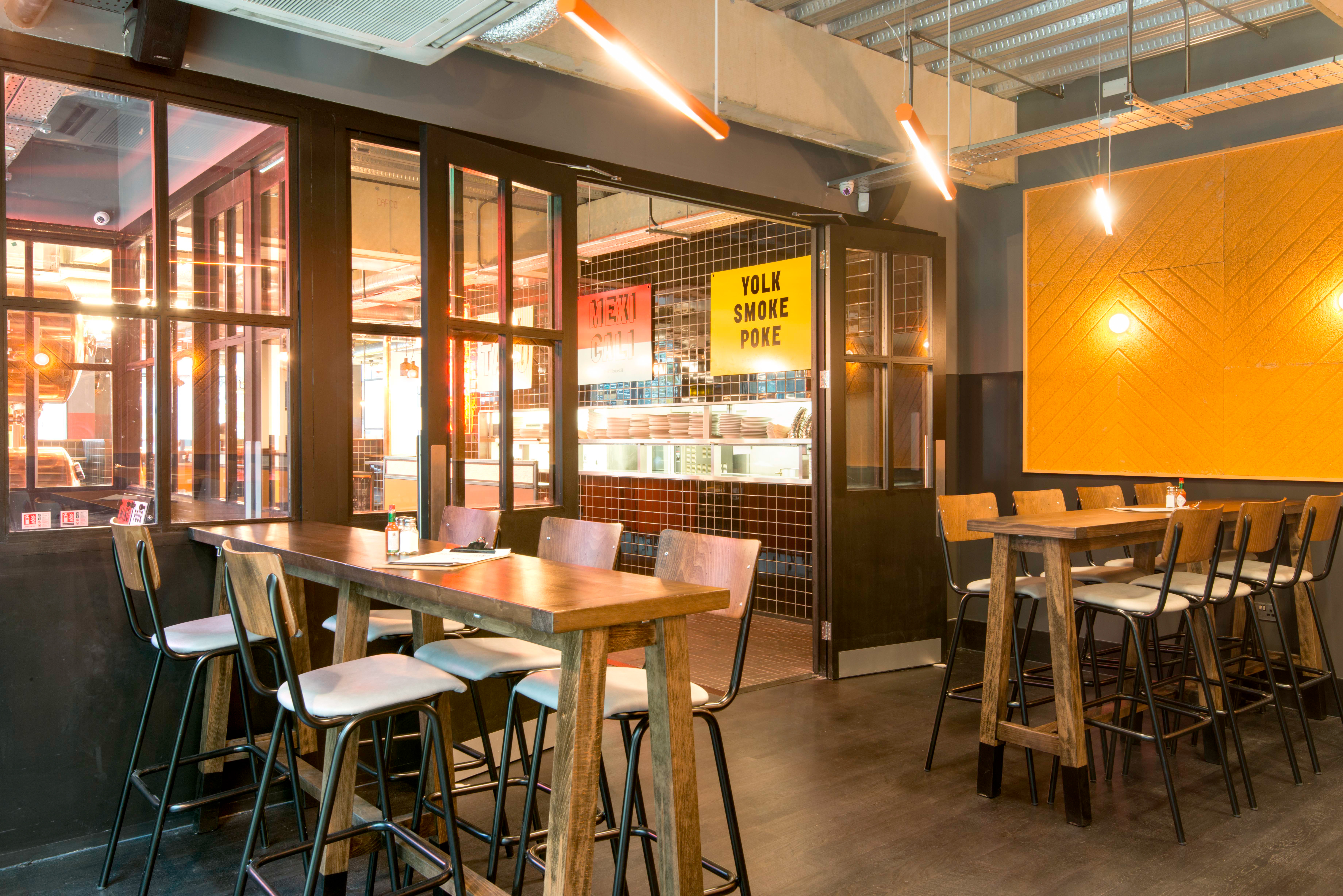 Draft House Chancery is open  relic interiors london