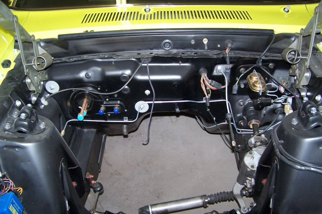 65 mustang wire harness routing