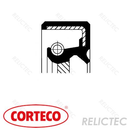 Shaft seal, manual transmission for Mitsubishi Hyundai