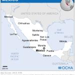 Mexico Location Map 2013 Mexico Reliefweb