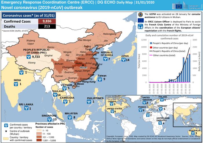 Emergency Response Coordination Centre (ERCC) | DG ECHO Daily Map ...