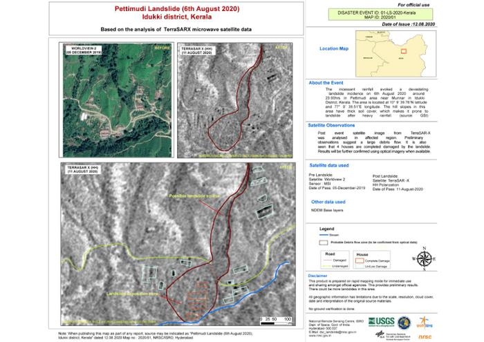 pettimudi landslide 6th august 2020