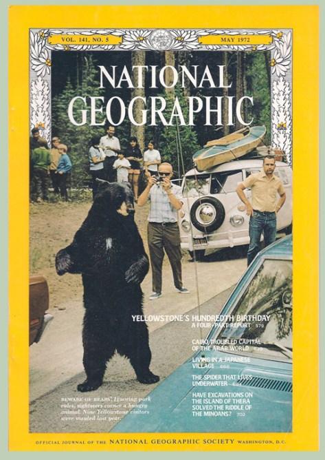 National Geographic Magazine May 1972