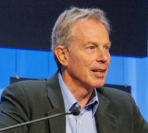 Tony Blair. foto. Remy Steinegger. wikimedia commons.