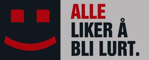 Logoen til motkampanjen Alle liker å bli lurt
