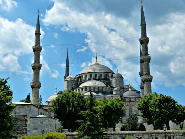 Den blå moské i Istanbul. Foto: Hans Olav Arnesen