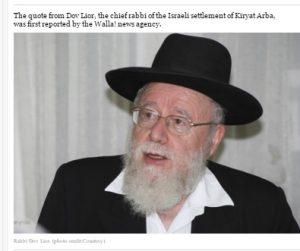 Rabbiner Lior